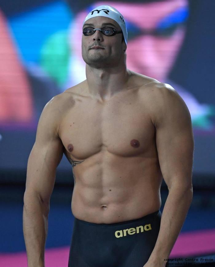 M. Florian Manaudou, champion olympique de natation