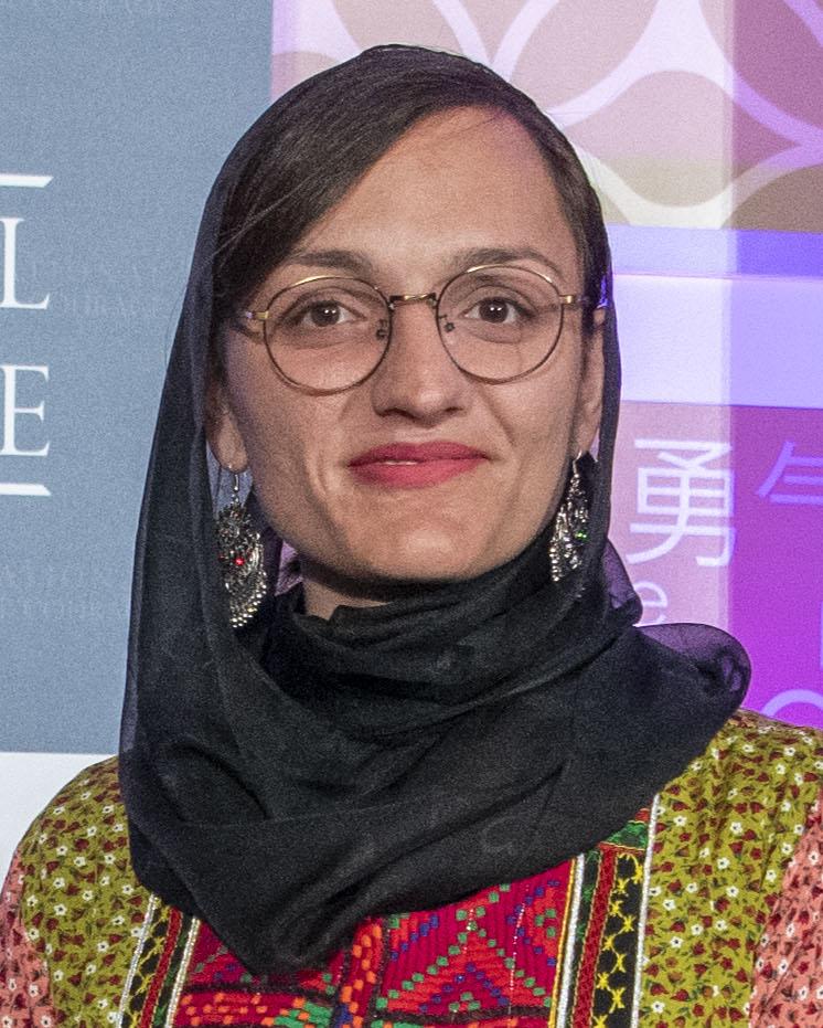 Mme Zharifa Gafari, 1ère femme maire en territoires talibans