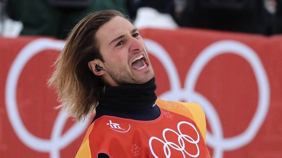 Pat Burgener. Snowboarder professionnel