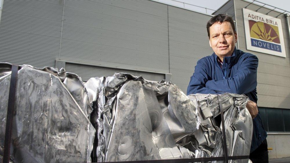 Serge Gaudin. Recycling Novelis